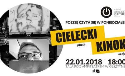 Poezję czyta się w poniedziałek. Marcin Cielecki i Tonda Kinoko