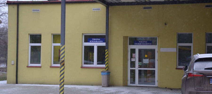 Iławiankę odesłano na oddział zakaźny ostródzkiego szpitala