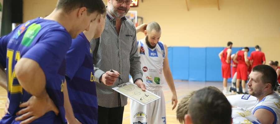 Trener Wilangowski mógł być zadowolony zwłaszcza z postawy Ante Markocia (w tle)
