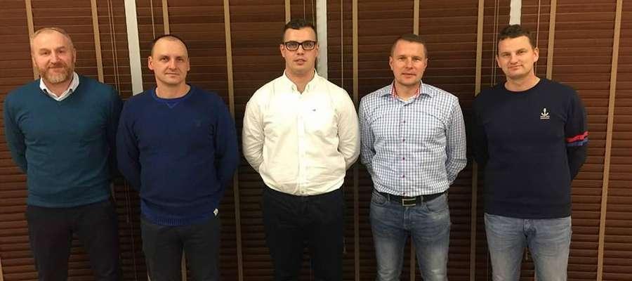 """Nowy Zarząd """"Wkry Żuromin"""" rozpoczął trzyletnią kadencję."""