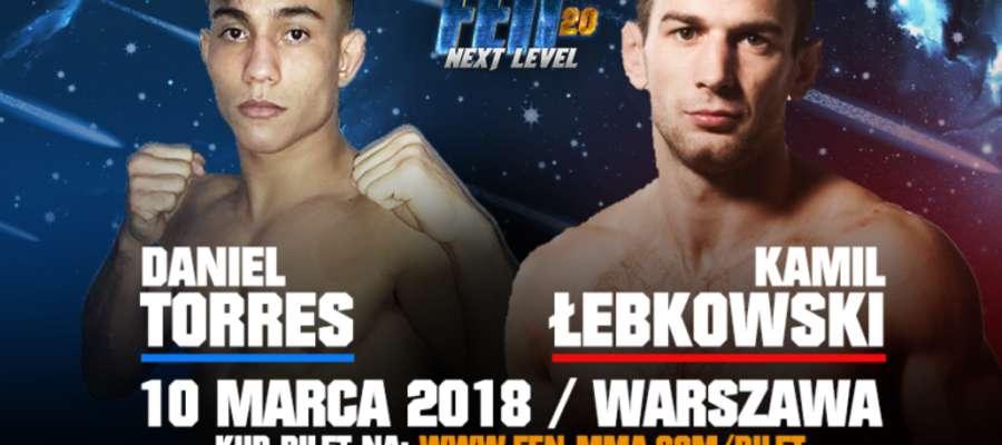 Kamil Łebkowski będzie walczył 10 marca na warszawskim Torwarze