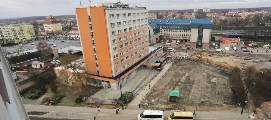 W ratuszu leży wniosek dotyczący wyburzenia hotelu Gromada