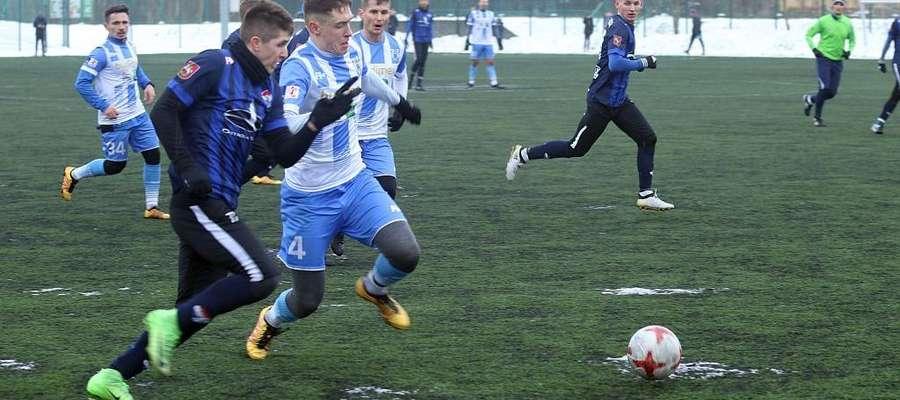 Stomil Olsztyn wygrał sobotni sparing z ostródzkim Sokołem