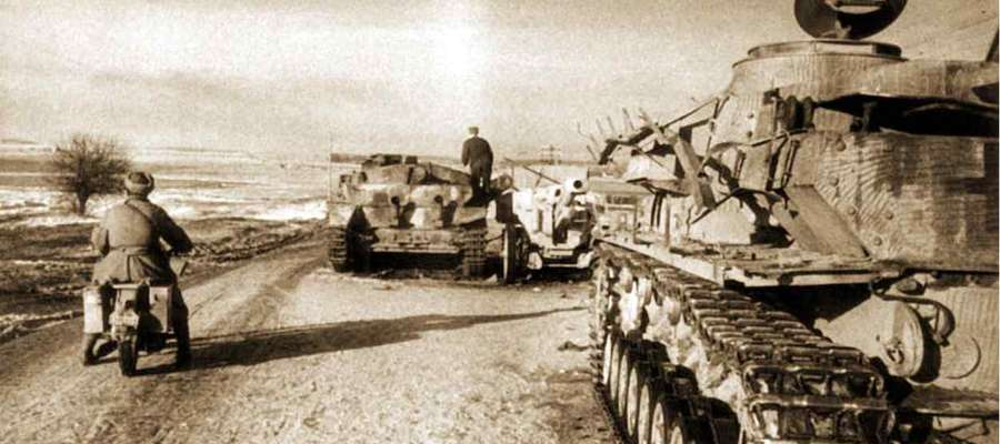 Ucieczka władz niemieckich z Działdowa w 1945.