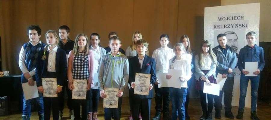 W konkursie wzięło udział ponad 30 uczniów.