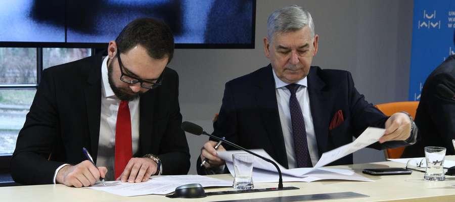 Podpisanie porozumienia UWM i Zortrax