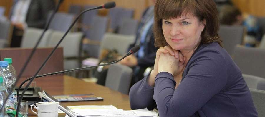 VII Sesja Rady Miasta  Olsztyn - VII Sesja Rady Miasta. Nz  Elżbieta Ewa WIRSKA - Radna - Klub Radnych Prawa i Sprawiedliwości