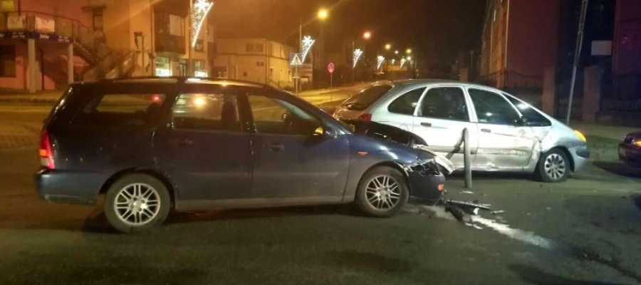Do wypadku doszło na skrzyżowaniu ulicy Kopernika z Sobieskiego