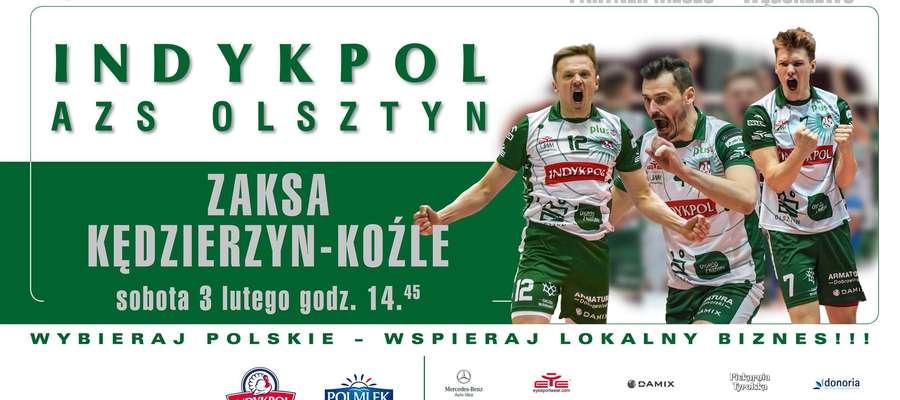 Bilet na sobotni mecz Indykpolu AZS z ZAKSĄ Kędzierzyn