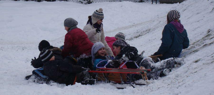 Zima na razie jest, więc dzieci nie powinny się nudzić