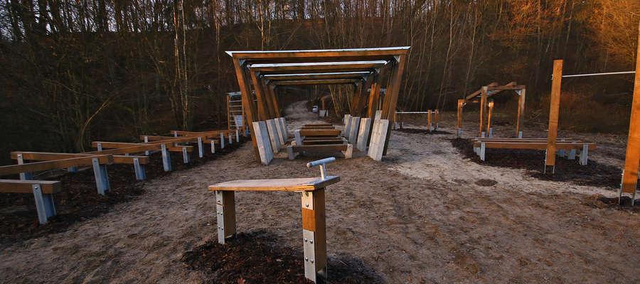Park Uzdrowiskowy Doliny Symsarny w Lidzbarku Warmińskim