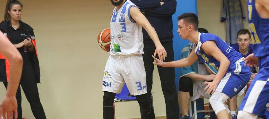Ante Markoć nie pierwszy raz był najskuteczniejszy w Stomilu: w Goleniowie rzucił aż 29 pkt