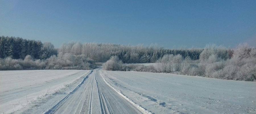 Krajobraz okolic Wozławek