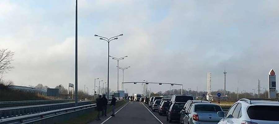 Największy napływ turystów i środków transportu odnotowano na przejściu granicznym Mamonowo – Grzechotki