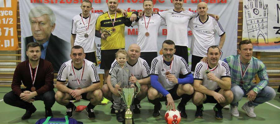 Po rku przerwy Delux ponownie został mistrzem Bartoszyc w futsalu