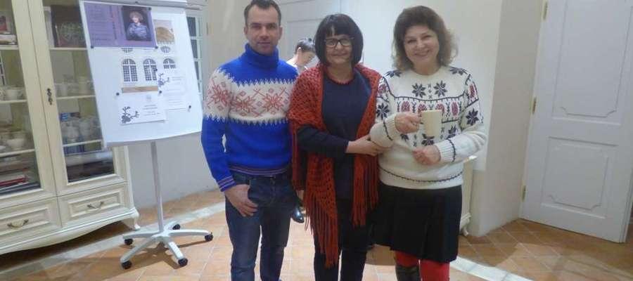 Pierwszy w tym roku Salon Literacki w Oranżerii Kultury odbył się 18 stycznia i był pełen poezji zimowej, także tej granej i śpiewanej w wykonaniu Pawła Oleszczuka