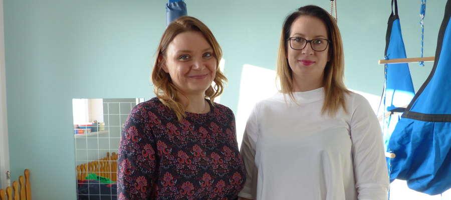 Zajęcia z integracji sensorycznej w Tereszewie prowadzą Magdalena Tarachanow i Monika Grabowska