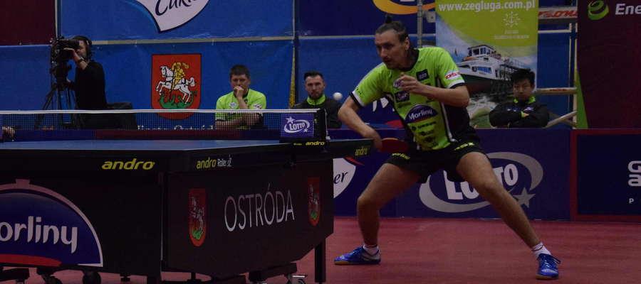 Dmitrij Prokopcow wygrał tylko jednego seta w meczu z wiceliderem