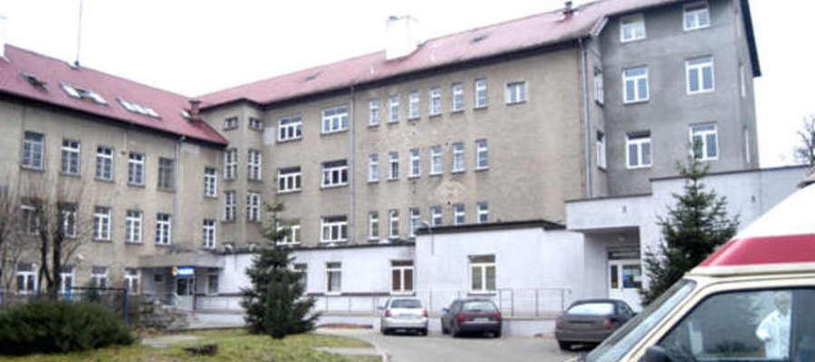 Chorzy trafili na oddział zakaźny szpitala w Ostródzie