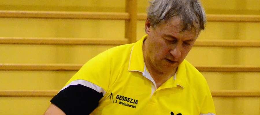 Stanisław Wiśniewski z Brodnicy też gra w gwiździńskiej lidze