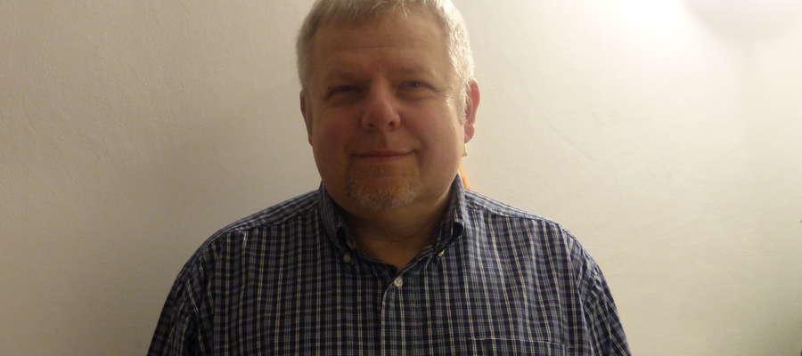 fot. — Wojciech Korzeniewski od początku współpracuje z redakcją Gazety Lidzbarskiej