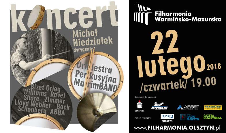 Koncert MarimBAND. Melodyczna orkiestra perkusyjna zagra w olsztyńskiej filharmonii - full image