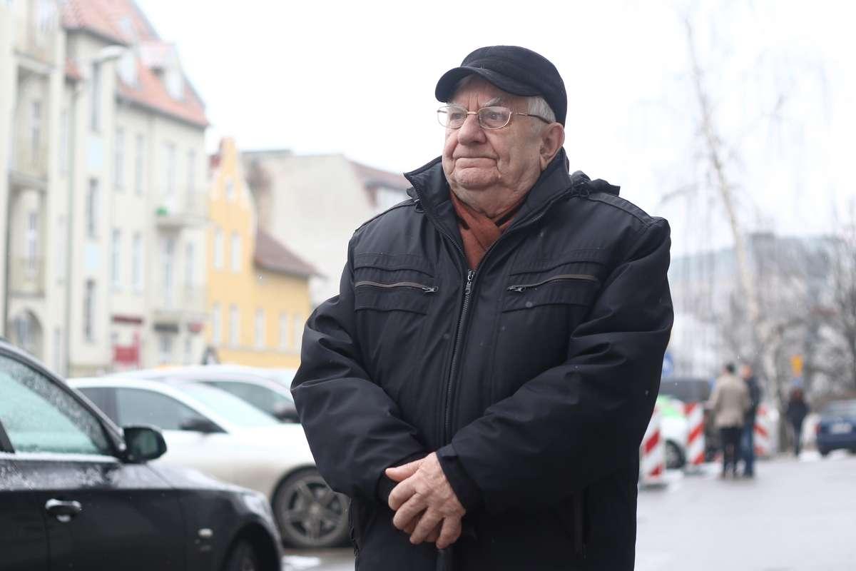 Michał Kwiatkowski  Olsztyn- Nz. Michał Kwiatkowski, członek rady krajowej związku emerytów i rencistów PKP w Olsztynie