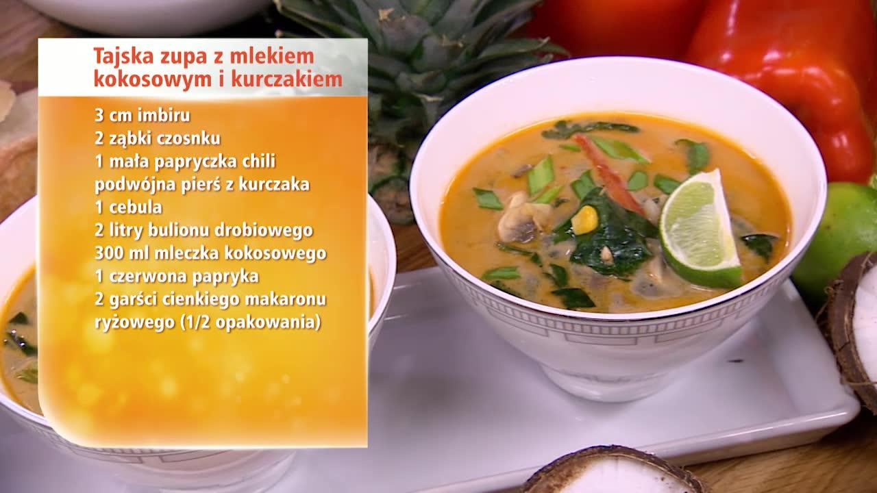 Kokosanki I Tajska Zupa Czyli Kuchnia Anny Starmach Pelna Kokosow