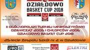 Działdowo Basket Cup 2018. Przyjdź i pokibicuj