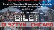 """Pokaz muzyczno-wizualny """"Bilet Olsztyn-Chicago"""""""