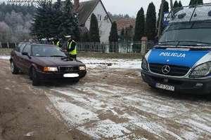Policyjne działania na drogach powiatu działdowskiego