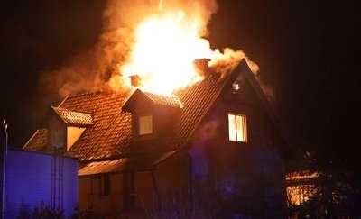 W palącym się domu zginął mężczyzna