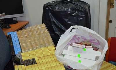 Mławscy policjanci ujawnili nielegalną kontrabandę