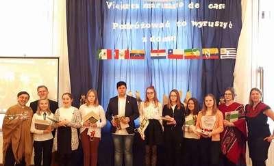 Dzień Kultury Hiszpańskiej w ZSO Orneta