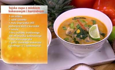 Kokosanki i tajska zupa, czyli kuchnia Anny Starmach pełna kokosów