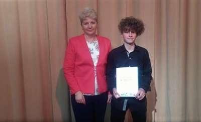 Uczeń I LO najlepszy w konkursie recytatorskim