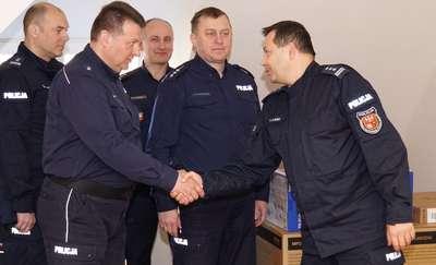 Komendant docenił i wyróżnił Mikołajki