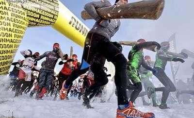 Przy -10 biega się najlepiej. Ełczanie pokonali Zimowy Runmageddon