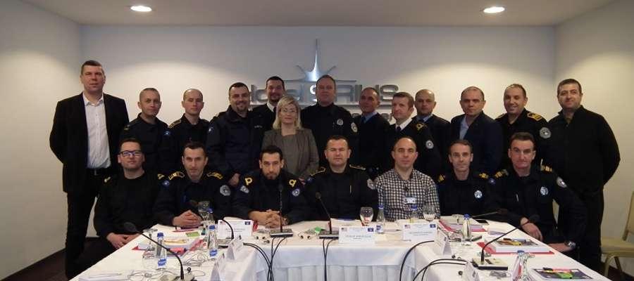 W szkoleniu uczestniczyło 18 funkcjonariuszy Służby Celnej i Policji Granicznej Republiki Kosowa
