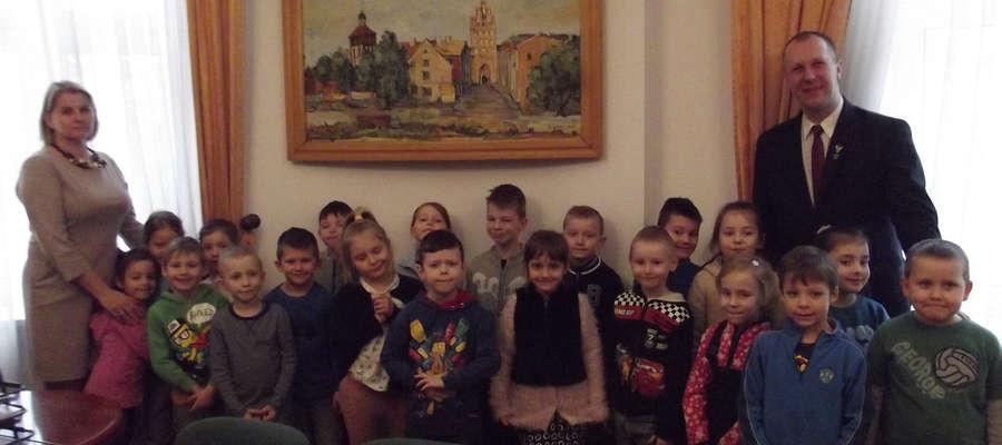 Przedszkolaki odwiedziły Urząd Miasta Bartoszyce
