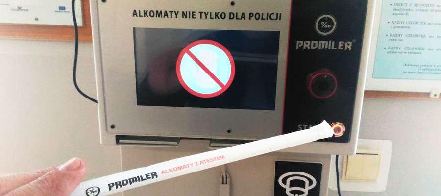 Alkotest na KMP w Elblągu