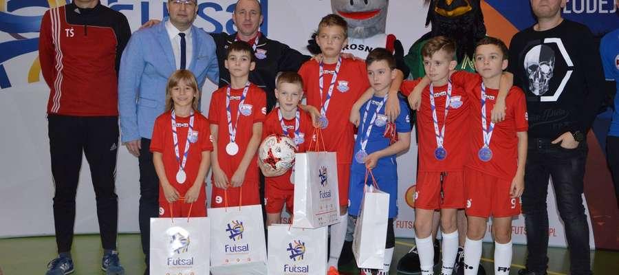 Zwycięska ekipa w Wieruszkowie