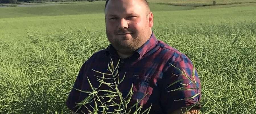 Armand Bruno Szara, rolnik i właściciel firmy AgriVision Kętrzyn / BIG-AGRO.pl