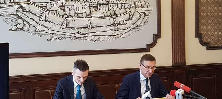 Konferencja na temat budowy ciepłowni w Olsztynie
