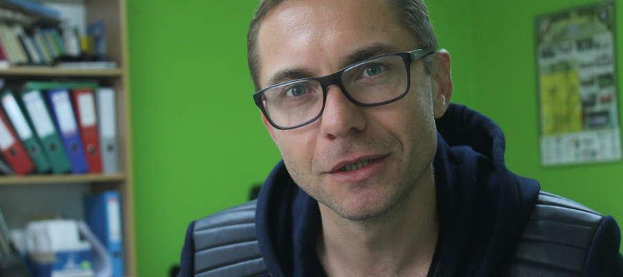 Rafał B. Banasiak, szef klastra Agroport Fot. Andrzej Grabowski