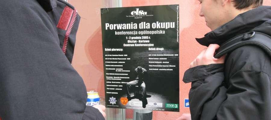 Konferencja porwania dla okupu