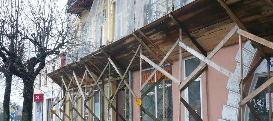 ,,Kamienica pod cycami' czeka na remont od wielu lat