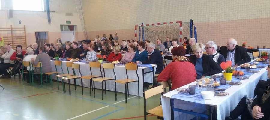 Podczas uroczystości w szkole w Bielicach