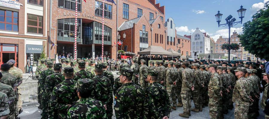 Od lipca ubiegłego roku w Elblągu stacjonuje dowództwo Wielonarodowej Dywizji NATO Północny Wschód