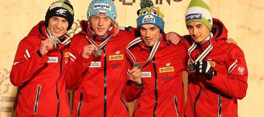 W 2013 roku Kamil Stoch, Dawid Kubacki, Piotr Żyła i Maciej Kot zdobyli brązowy medal MŚ w Val di Fiemme. W Pjongczangu apetyty są nawet większe...